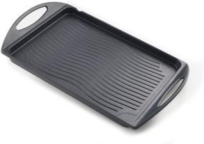 Griglia bistecchiera alluminio antiaderente induzione