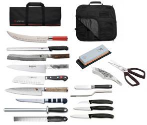 Valigetta completa First-Class per Chef professionisti