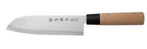 Coltello Stile Giapponese Economico Santoku cm. 18 Serie Classic