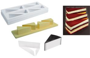 Set Forme Speciali Fetta di Torta