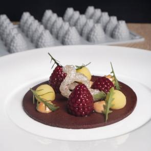 Berry: Stampo in silicone Lampone Linea Gourmand di Pavoni Professional