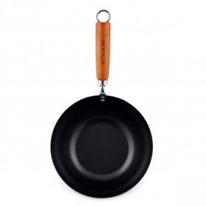 Mini wok Classic in acciaio al carbonio antiaderente D. 20 cm. di Ken Hom