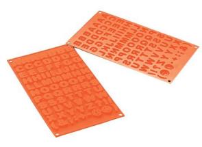Stampo in silicone LETTERE