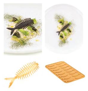 Lisca pesce silicone