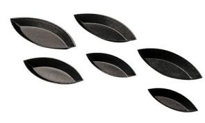 Stampi per tartellette a barchetta antiaderente (confezione da 6 pezzi)