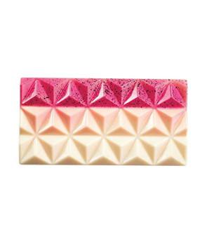Stampo in policarbonato Tavoletta 80 gr. Piramidi Choco Style di Martellato