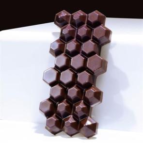 Stampo in policarbonato Tavoletta Hexagon 100 grammi di Martellato