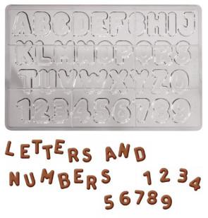 stampo lettere numeri
