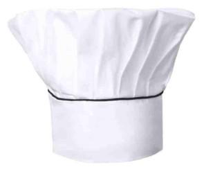 Cappello bianco nero