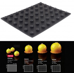 Stampo in silicone Sfere effetto tridimensionale 3D di Pavoni