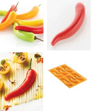 stampo silicone peperoncino