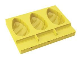 Stampo gelato a stecco Malibu Pavogel con 50 stecchi di Pavoni Professional