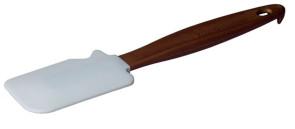 Spatola in silicone con incavo cm. 25 di Pavoni Professional