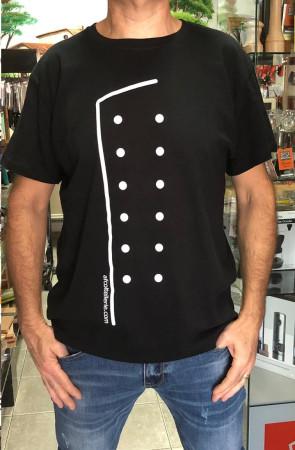 T-shirt CHEF Divisa Creativa con logo AFcoltellerie