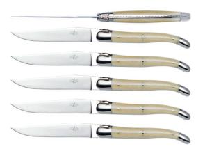 Set 6 coltelli osso Forge de Laguiole