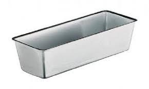 Stampo in alluminio rettangolare per Plumcake