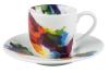 Set 6 Tazzine caffé con piattino On Colour Flow ml.85