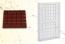 Stampo in policarbonato per cioccolato Tavoletta Quadrata 200 grammi