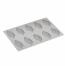 Stampo in silicone Piuma di Pavoni Professional