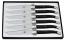 Set 6 coltelli corno nero Laguiole