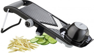 Compact vegetable slicer with V blade Veggie Moha
