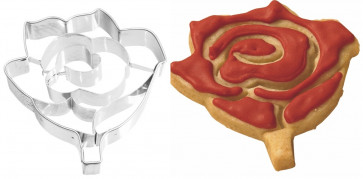 Stainless steel paste-cutter mould Rose