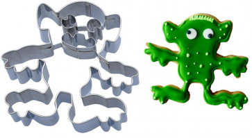 Gnuff: Stainless steel Paste-cutter Monsters