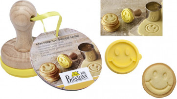 Small mould-stamp for biscuits Smiley