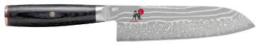 Damascus knife 49 layers Gyutoh blade cm. 18 Miyabi 5000 FCD series