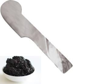 Spatula for caviar in nacre