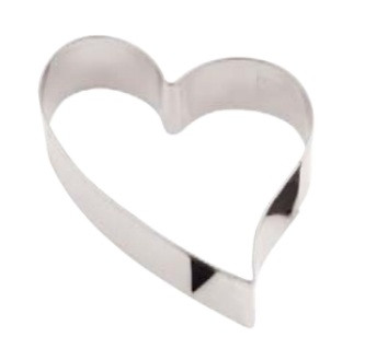 Stainless steel HEART  paste-cutter