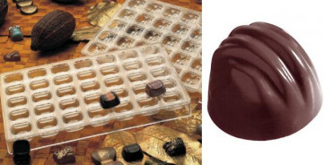 Mould for chocolate polycarbonate: Deco