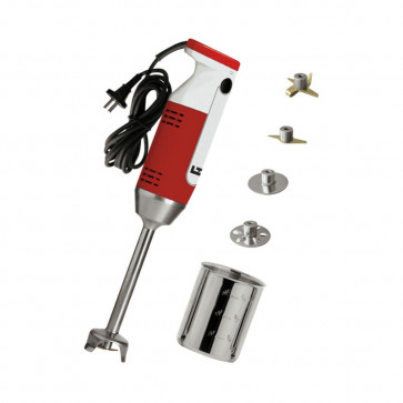Mixer with accessories: the chef and pastry-chef implement