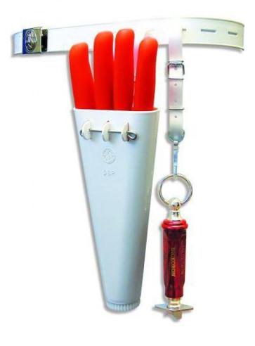 Fodero per coltelli con cintura