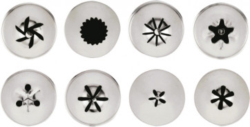 Set of assorted spouts 8 items