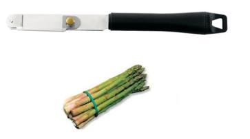 Asparagus peeler
