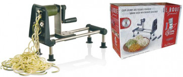 Vegetable cutter and spaghetti cutter Rouet Gourmet in stainless steel