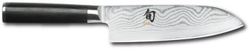 Coltello Damascato Santoku Shun Classic