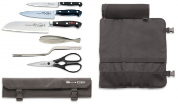 PremierPlus foldable roll: roll for knives containing Forged knives and accesssories