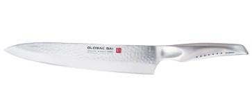 Coltello cuoco cm. 25 Global SAI martellato