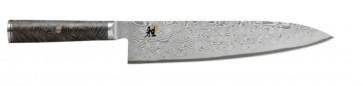Coltello damasco 133 strati Gyutoh lama cm. 24 Serie Miyabi 5000MCD 67