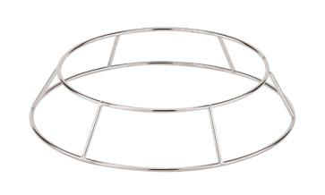 Chromed base for wok