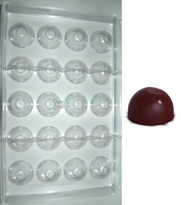 Stampo in policarbonato cioccolatino Tondo Iglu