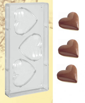 Polycarbonate mould for giant Hearts