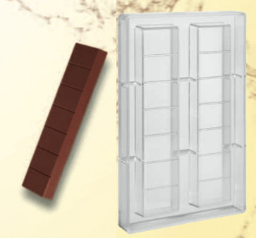 Mould for chocolate polycarbonate: Nougat gr. 300
