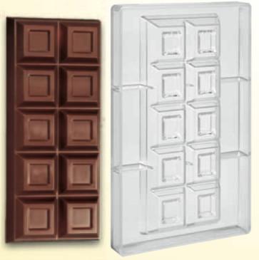 Stampo in policarbonato Tavoletta di cioccolato 500 gr