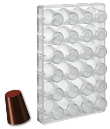 Stampo per cioccolato in policarbonato Bicchierino alto