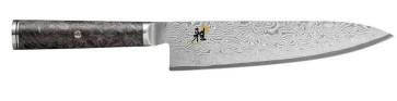 Damascus knife 133 layers Gyutoh blade cm. 20 Miyabi 5000 MCD 67 series