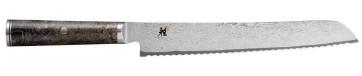 Coltello damasco 133 strati Pane lama cm. 24 Serie Miyabi 5000MCD 67