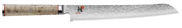 Damascus knife 101 layers Bread blade cm. 23 Miyabi 5000 MCD series